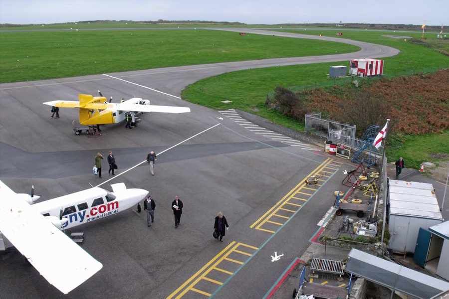 Flights Into Alderney Are Further Restricted Guernsey Press