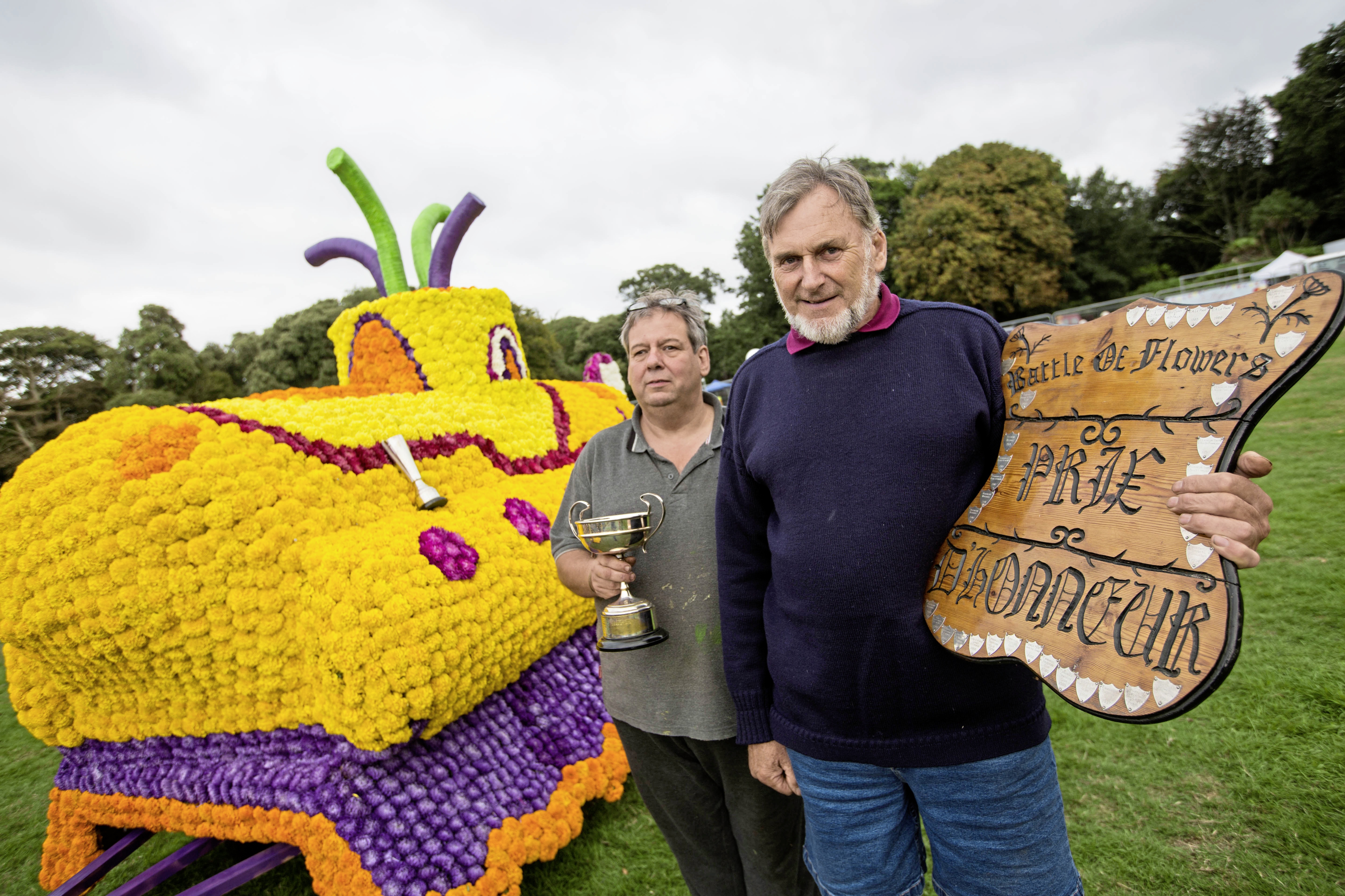 Yellow Submarine Sails Off With Battle Honours Guernsey Press